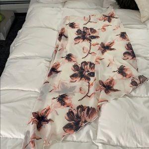 White floral windsor dress